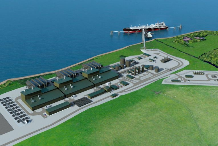 The proposed Shannon LNG terminal on a 600-acre site between Ballylongford and Tarbert in Co Kerry will include a 600MW power plant and an offshore regasification unit. Picture: Miguel Tanous