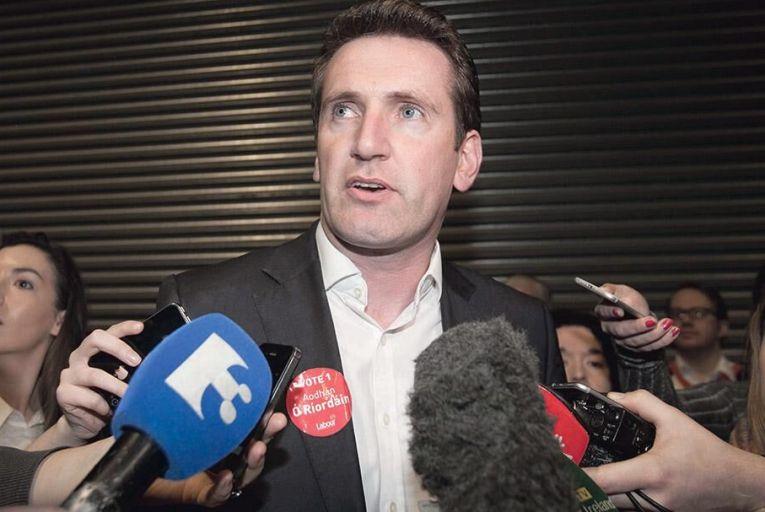 Aodhán Ó Ríordáin,  Labour Party senator  Picture: Collins