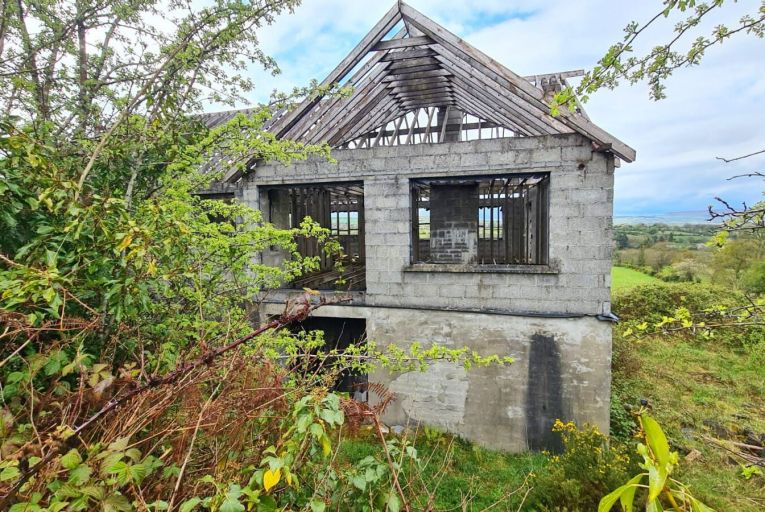 An unfinished property in rural Co Kilkenny will go to auction on May 27 with an AMV of €35,000