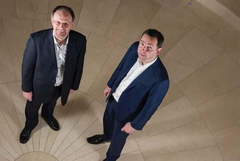Darren Cunningham, chief executive, and Dr Michael O'Neill, research and design director, Inflection BiosciencesBarry Cronin