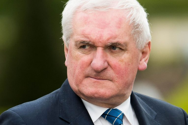 Bertie Ahern said makes no sense for the British not to do a deal. Picture: Getty