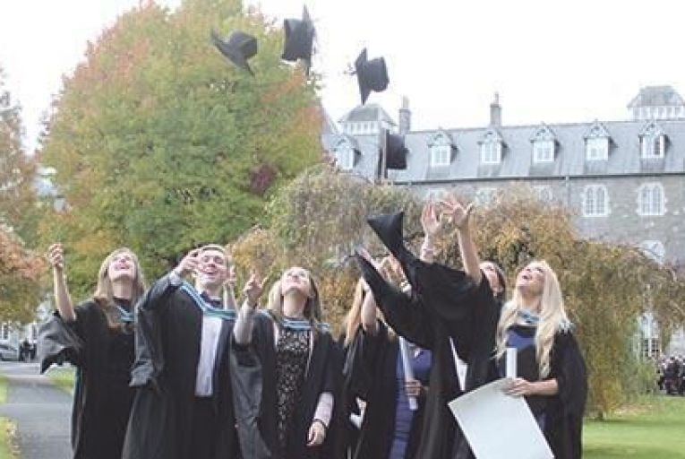MSc Business Management Graduates, Class of 2015                                    Picture: Kathryn Walsh