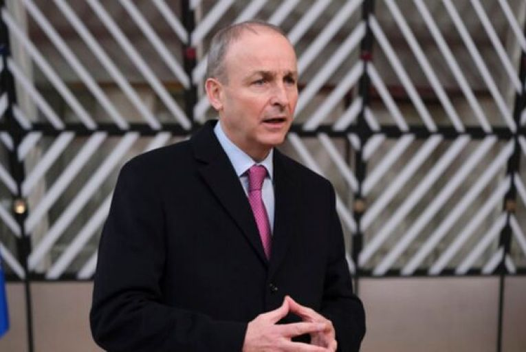 Micheál Martin, the Taoiseach, said Ireland will shortly receive delivery of almost 10,000 vaccines. Picture: Rollingnews.ie