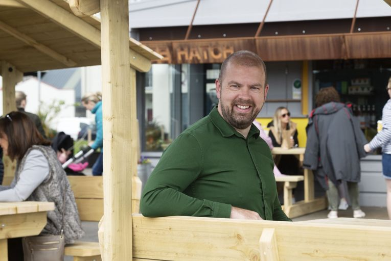Kevin Nugent, owner of Tribe Hospitality: 'If you talked to me this time last year as we were reopening back then after the first lockdown, I would have said the worst is behind us. Unfortunately, it wasn\'t.' Picture: Andrew Dowens, Xposure
