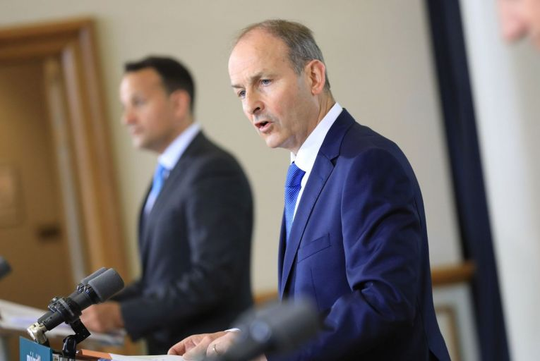 The government's €7bn 'Late Late Show' stimulus package