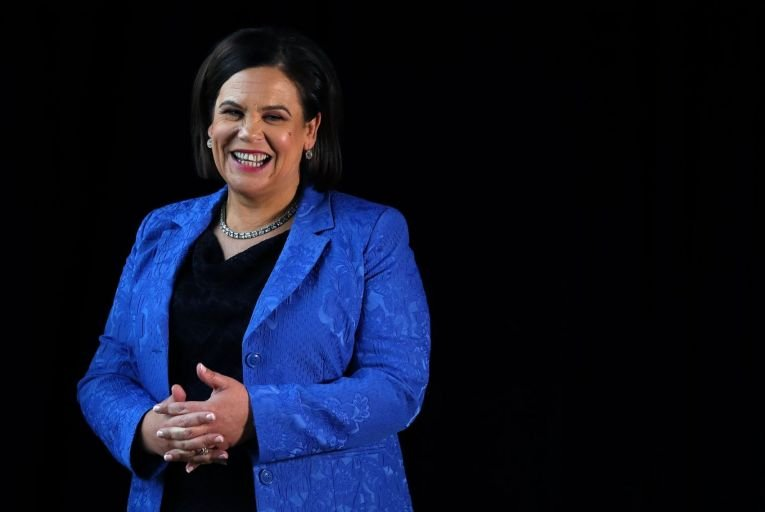 Mary Lou McDonald: Sinn Féin's support has risen to its highest level since Red C began polling in 2003. Picture: PA
