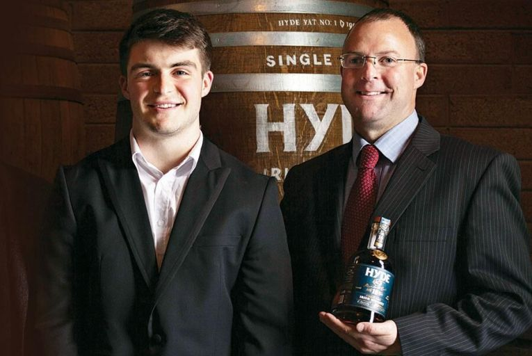 Peter Hyde, sales manager and Conor Hyde, chief executive of Hibernia Distillers