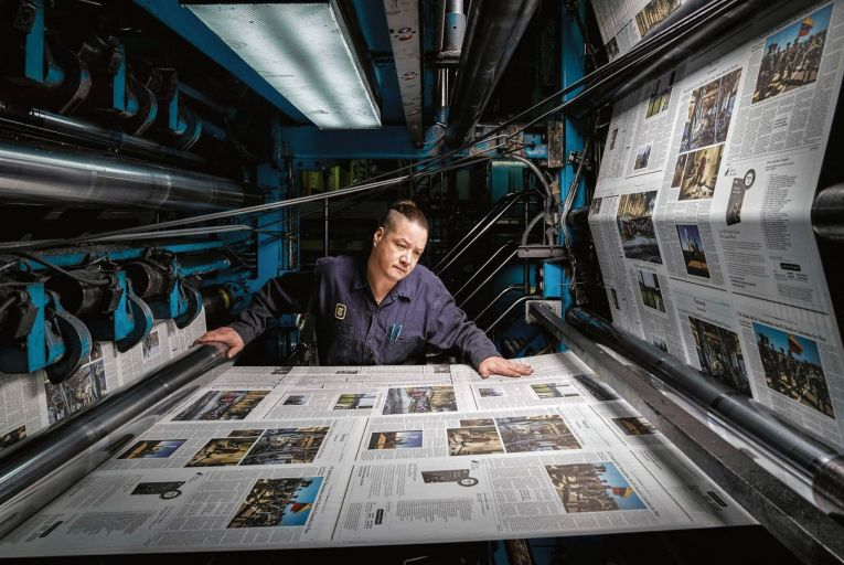 The first pandemic of the information age will likely be the last one of the print media age; it may herald print media's final demise