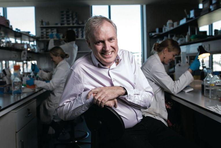 Professor Luke O'Neill of Trinity College Dublin: 'Everyone should have one dose' Pic Fergal Phillips
