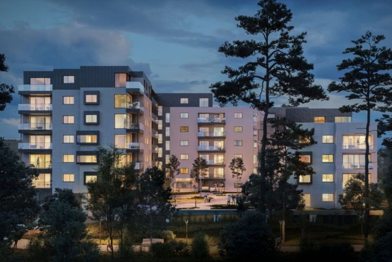 Seven Dundrum apartments leased for social housing have been empty for 17 months