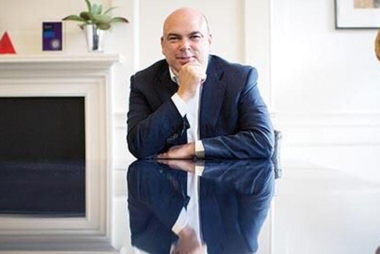 Mike Lynch of Invoke Capital: the technology entrepreneur is majority shareholder in Darktrace Bloomberg