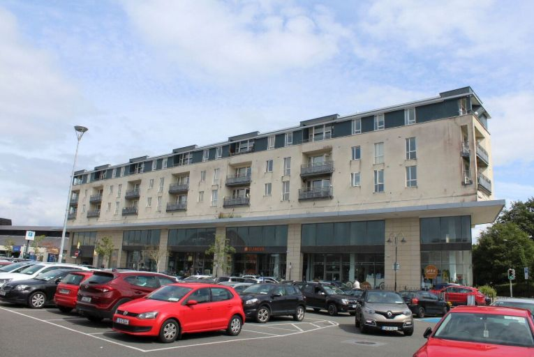 The 55 square metre, two-bedroom apartment is located in a secure gated complex and is within walking distance of Midleton town centre. Picture: Youbid