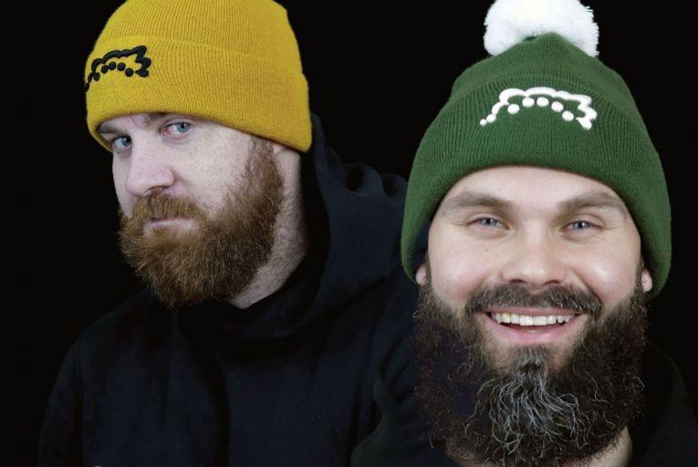 Dan O'Mahony and Mike Sikora of Da Silly Heads