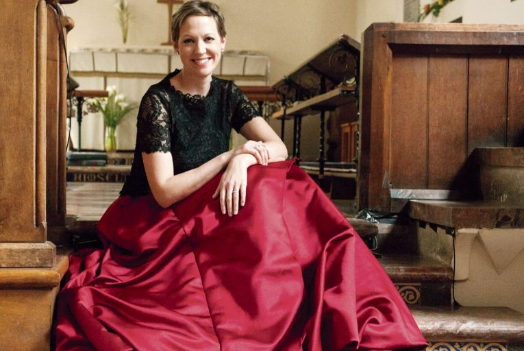 Julia Doyle, soprano, will feature in Handel's opera Acis and Galatea from St Patrick's Hall in Dublin Castle on Friday as part of Dublin HandelFest. Picture: Louise O'Dwyer