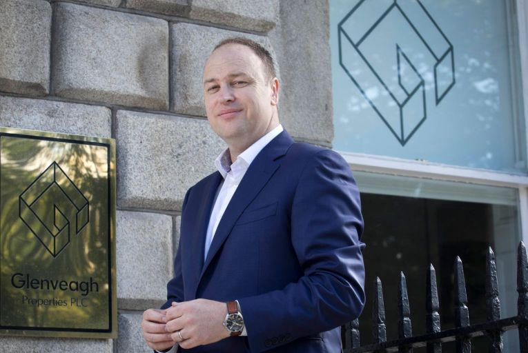 Stephen Garvey, chief executive of Glenveagh Properties, said the key to solving the housing problem is getting more supply into the overall market. Picture: Fennell Photography 2019