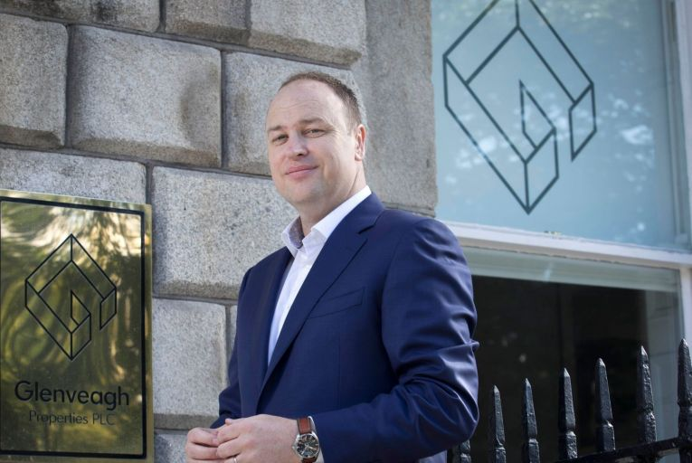 Stephen Garvey, chief executive of Glenveagh, says it is 'too early to tell' to what extent house prices will be affected next year. Picture: Fennells