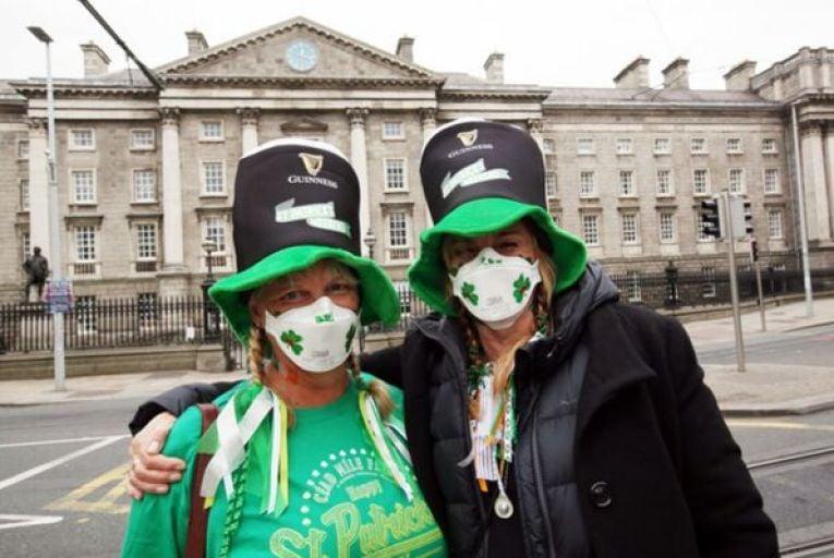 Coronavirus: 69 new cases on quietest St Patrick's Day