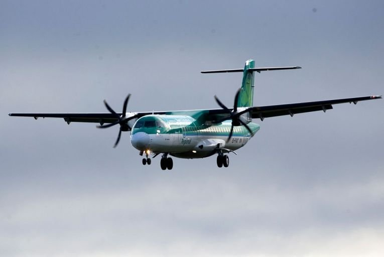 Emerald Airlines will operate routes using Aer Lingus-branded turboprop aircraft. Picture: Rollingnews.ie