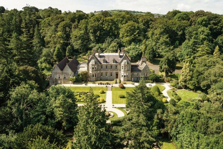 Magheramorne Estate in Larne, Co Antrim was sold by Savills back in March. The 2,835 square-metre house is set on 40 acres