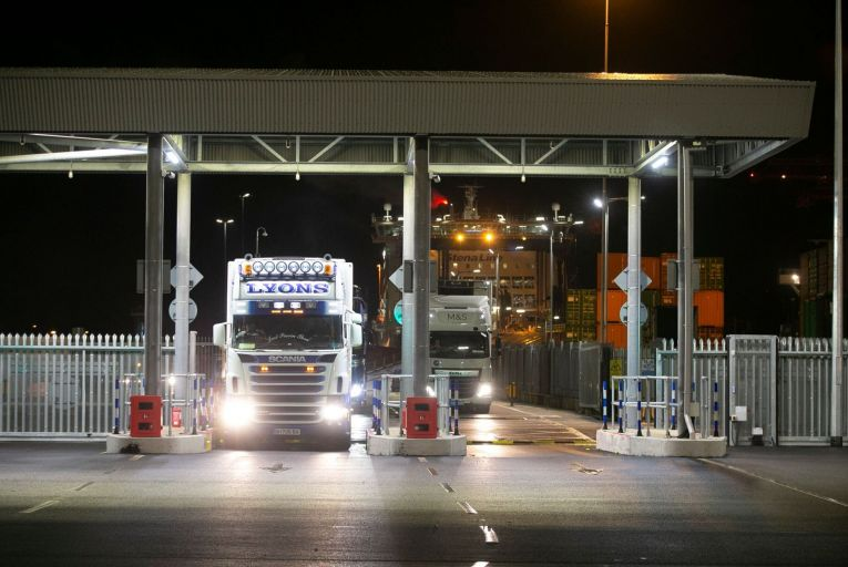 From October, meat and dairy products being exported to Britain will be subject to sanitary checks at customs. Picture: Sam Boal/Rollingenws.ie.