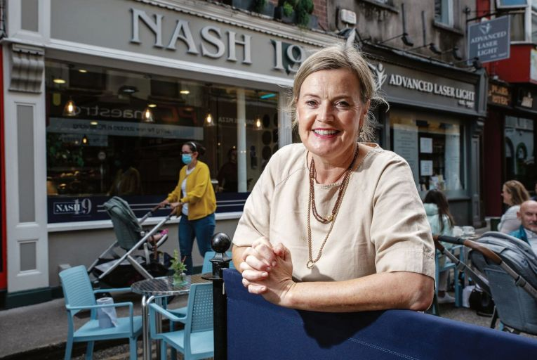 Claire Nash of Nash 19 in Cork says the 'art of hospitality'is very difficult to maintain in the current conditions. Picture: John Allen