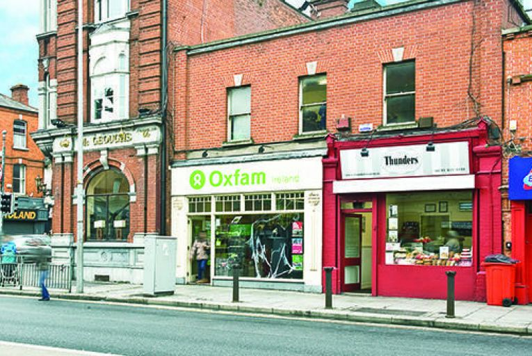 Oxfam property on Phibsborough Road in Dublin for sale at €550,000