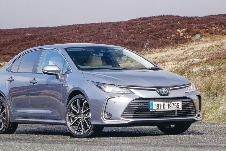 The Toyota Corolla Hybrid Saloon: an enjoyable car to steer