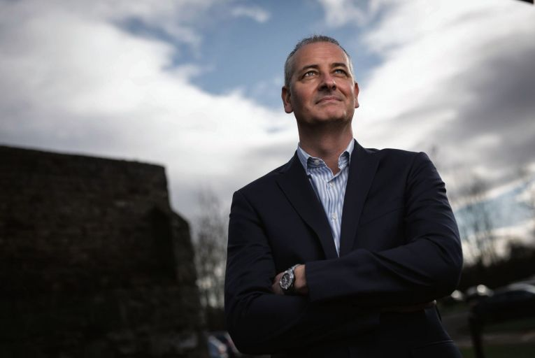 Paul Reid, country manager/managing director at Pfizer Healthcare Ireland: 'If you combine all of the vaccines we should be well on our way to vaccinating a large cohort of the Irish population by the end of quarter two.' Credit: Fergal Philips