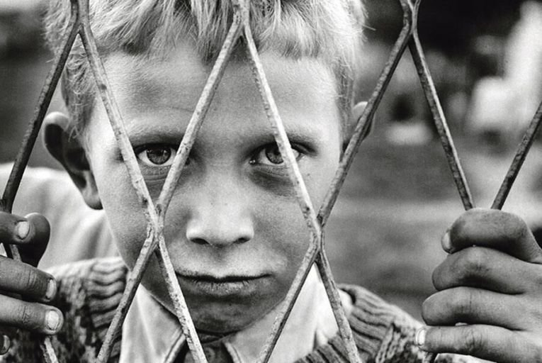 A child of war in Gornji Vakuf during the 1990s