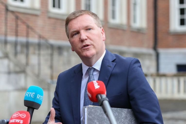 Michael McGrath, the Minister for Public Expenditure, said the National Economic Recovery Plan's overall focus was to rebuild employment levels across a range of sectors. Picture: Sasko Lazarov/RollingNews.ie