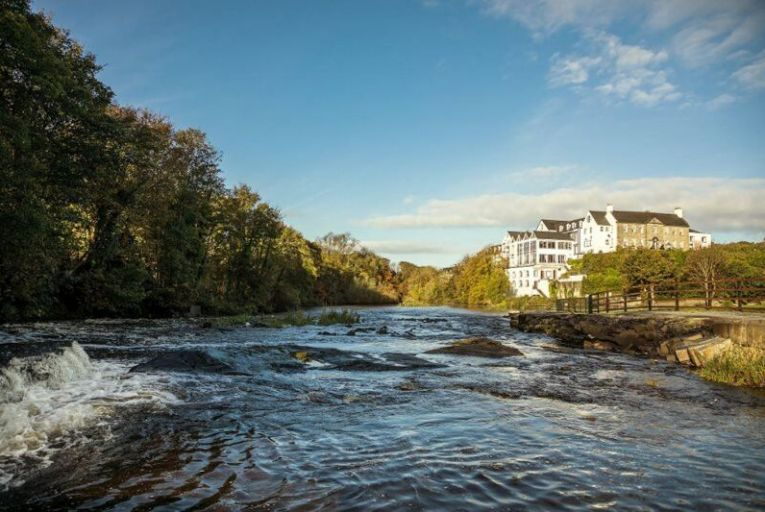 Typically, a hydroelectric turbine can power 70 per cent of the electricity needs at The Falls Hotel in Ennistymon, Co Clare