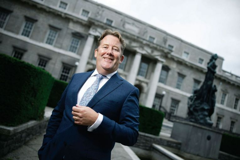 Darragh O'Brien, Minister for Housing: exemption put in after advice given from Housing Agency. Picture: Fergal Phillips