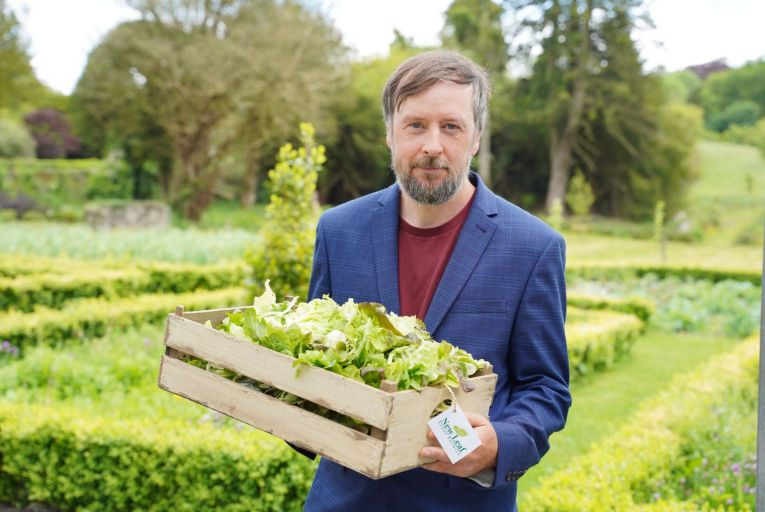 Kevin Wallace, founder of New Leaf Urban Farmers in Co Limerick: 'If you take nature and you can culture it and you have a somewhat scientific approach, you can see a demonstrable result'