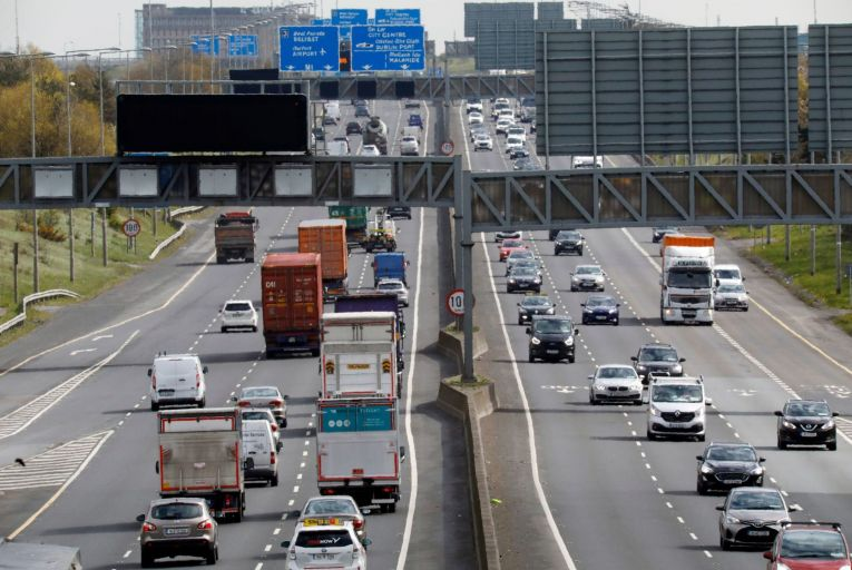 Some 30 per cent less commuters will travel to work every day compared to 2019 levels, even once the pandemic is over, according to the NTA. Picture: Rollingnews.ie