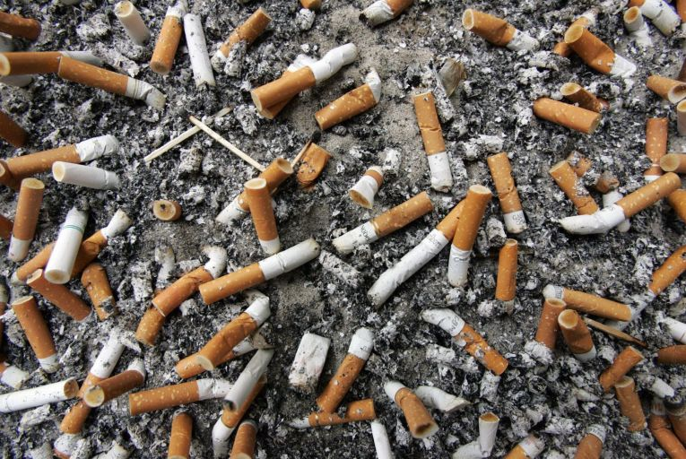 Tobacco firms could be made to pick up tab for discarded cigarette butts