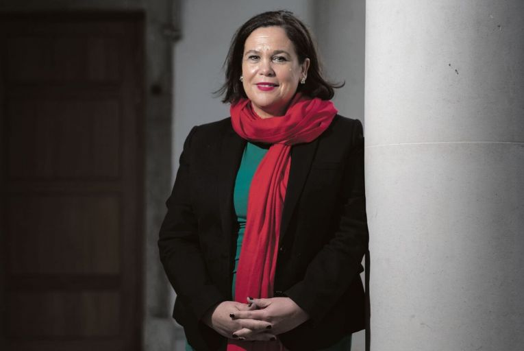Sinn Féin leads in Red C poll for the first time