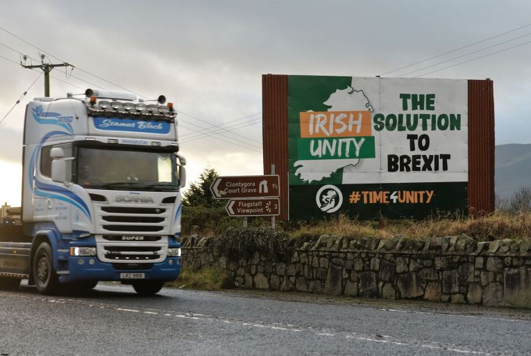 The view of land and territory as a physical objective that defines nationalism is an  old-fashioned one  Pic: RollingNews.ie