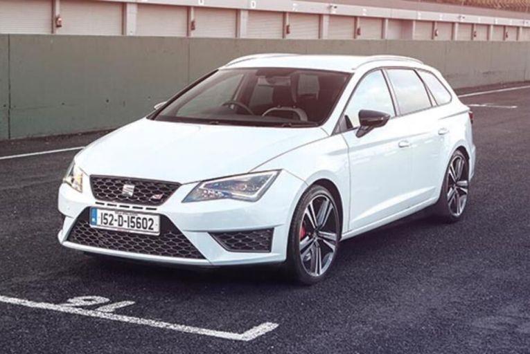 The new Seat Leon Cupra ST DSG