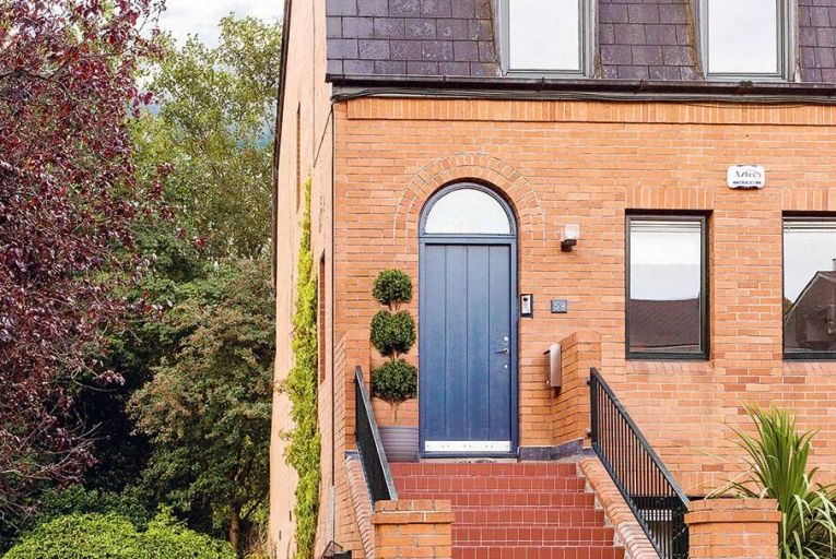 Turnkey townhouse for €845,000 in leafy south Dublin