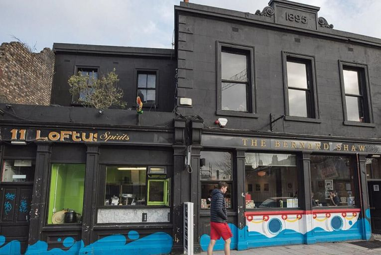 The Bernard Shaw bar on South Richmond Street: its impending closure has sparked a lively debate over what kind of city Dublin should be Pic: Fergal Phillips