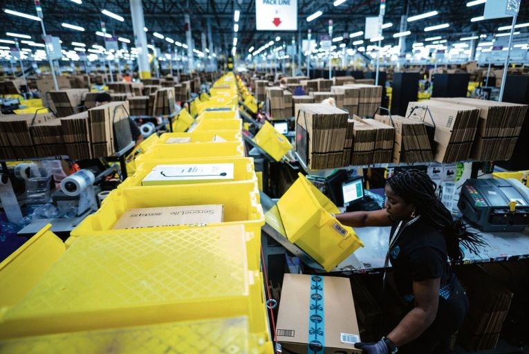 Amazon made headlines last week when it emerged that the web retail giant routinely destroys millions of unsold items . Picture: Getty