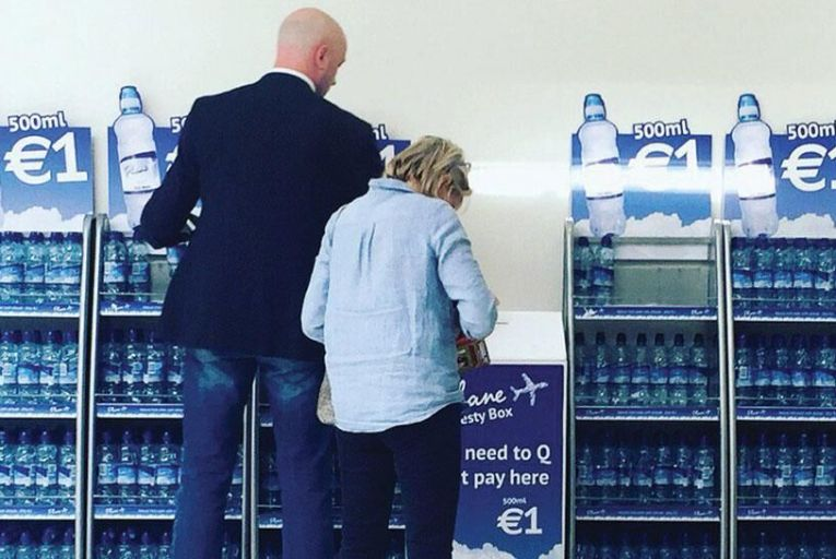 The honesty box at Dublin Airport where 92 per cent of people do pay up
