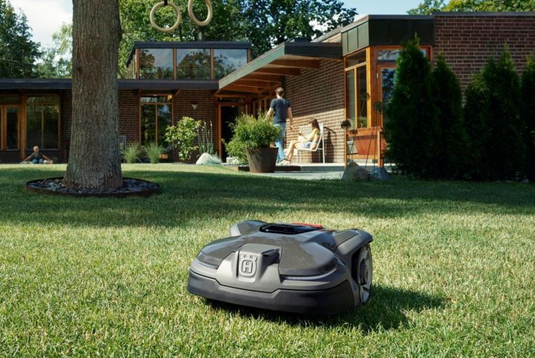 The Husqvarna Automower: essentially a Roomba for your garden