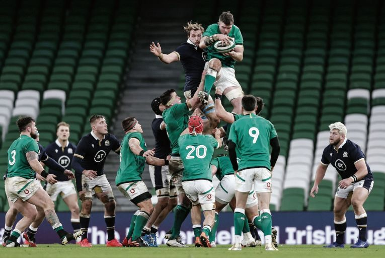 The latest annual report, published in October, outlined a deficit of €35.7 million for the IRFU. This followed a €28 million surplus the previous year. Picture: Inpho/Laszlo Geczo