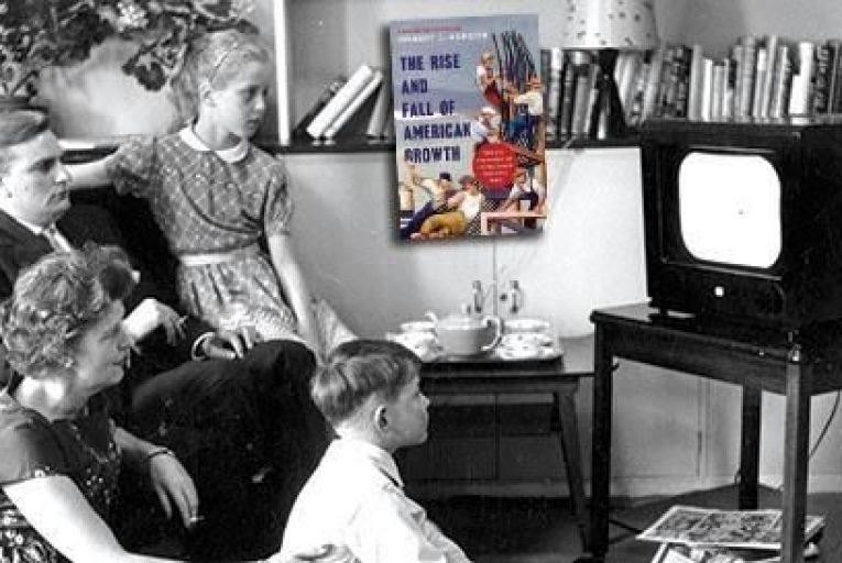 By 1960 nearly 65 per cent of American households had a television Picture: Getty