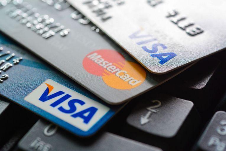 The volume of card transactions, excluding ATM usage, increased by 11 per cent in the month of May compared to April. Picture: Getty