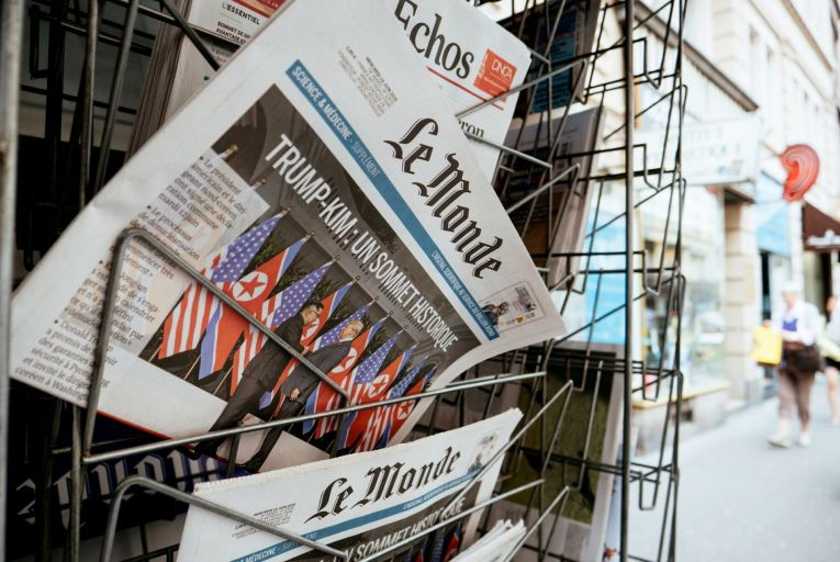 Coverage which promotes Ireland as a country in which to invest will be sought in key media outlets across Britain and Europe, such as Le Monde in France. Picture: Getty