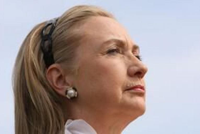 Hillary Clinton in hospital with blood clot