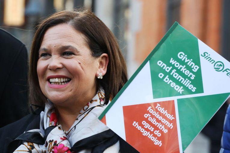 Sinn Féin level with Fianna Fáil as Fine Gael plummets
