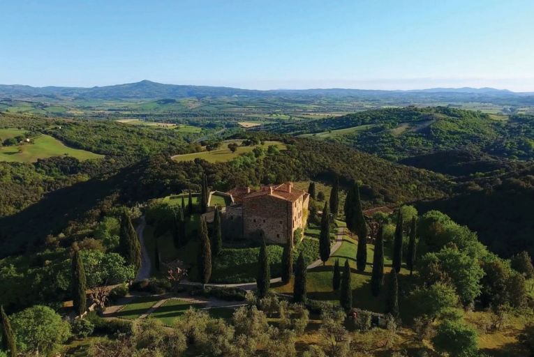 Castello di Vicarello includes all the amenities of a luxury boutique hotel but with the personal touch and attention to detail that you'd expect from a small B&B